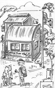 cartoon picture of school