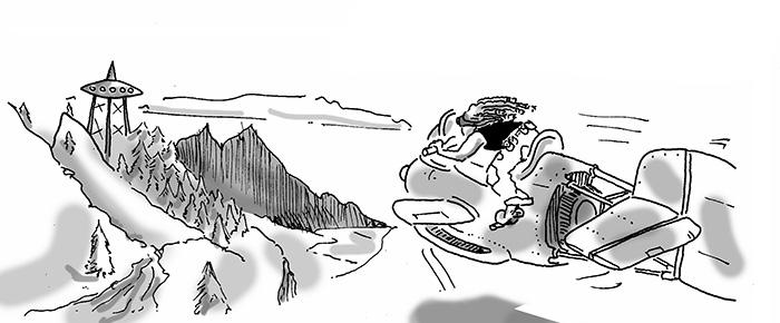 comic book illustration for p3