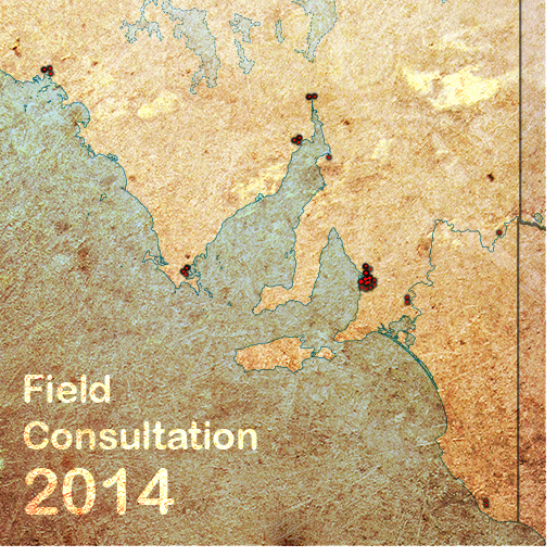 map of SA showing consultation locations