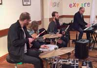 Richard Chew and band
