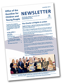 picture of the november 2017 guardians newsletter