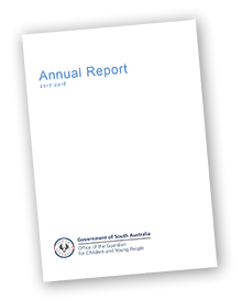 graphic of GCYP annual report